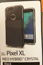 Spigen Google Pixel XL  Black [Neo Hybrid Crystal] Shockproof TPU Case Cover