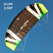 Flexifoil Blurr 2.5m kite - With Lines And Handles !