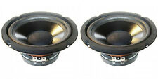 """NEW (2) 6.5"""" woofer Bass.Speakers 4ohm.Home audio stereo replacement.6-1/2"""" PAIR"""