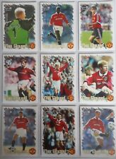 Futera Manchester United 1999 COMPLETE SET includes 3 Insert Sets plus #100 card