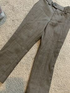 Boys Suit Formal Grey Trousers Next Signature 4years