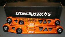Blackworks BWR Rear Lower Control Arms LCA 88-95 Civic 90-01 Integra Orange