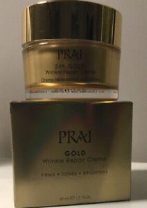 PRAI Gold 24k Wrinkle Repair Eye Cream 50 ML New In Box Rrp £37