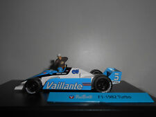 MICHEL VAILLANT #3 F1-1982 TURBO VAILLANTE ALTAYA IXO 1/43