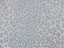 Schumacher Fabric 'ICONIC LEOPARD- SKY' 2.1 METRES 210cm INDOOR/OUTDOOR II