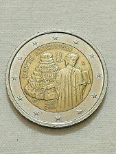 Moneta 2 EURO DANTE ALIGHIERI 1265 2015 COMMEMORATIVA N 8