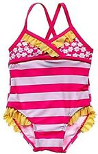 Circo Baby Girl's Swimsuit Swimming Suit One Piece 12 Month 12M Ruffle Swim Wear