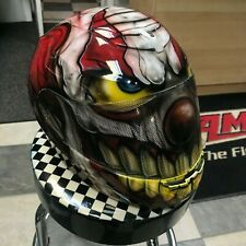Airbrushed Clown Helmet Size Large