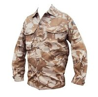 DESERT/Sand CAMOUFLAGE TROPICAL SHIRT/Jacket - British/Army/Military - SALE