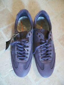 NOBRAND Pointure 40 chaussures toile et cuir mauves baskets shoes