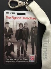 THE PIGEON DETECTIVES  RARE I-TUNES NUMBERED CONCERT LAMINATE 2007 MINT