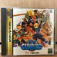 GUNBIRD for Sega Saturn ATLUS Game playing is Excellent!!