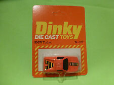 DINKY TOYS 107 BMW TURBO - ORANGE 1:60? - NM+UNOPENED CARD BLISTER