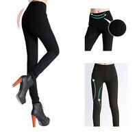 Leggings leggin pantacalza pantaloni fitness sport donna taglia unica in cotone