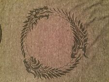 Elder Scrolls Online Exclusive Limited Promo Ouroboros Soft Gaming T-Shirt (XL)