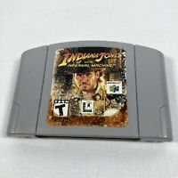 Indiana Jones and the Infernal Machine Nintendo 64, 2000 N64 Authentic & Tested