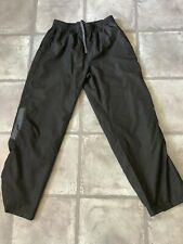 Vintage 90s Starter Track Suit bottoms Shell Joggers Retro Black Medium