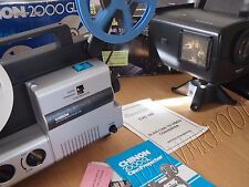 Camlink CVC100 & Chinon cine Film Projector Telecine Video Transfer Dual 8, 8MM