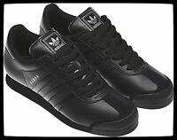 Adidas Samoa Leather Black Casual Mens Sneakers Shoes G22596