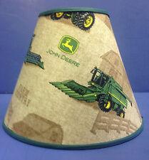 John Deere Combine Corn Picker Tractor Handmade Lampshade Farming Lamp Shades