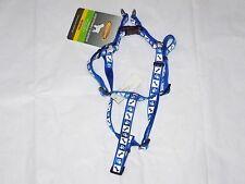 New listing New w Tags Reflective Male Female Puppy Dog Pet Blue Medium Adjustable Harness