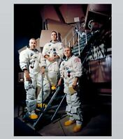 Apollo 8 Crew PHOTO Portrait Print Astronaut Space Suits Kennedy Space Center