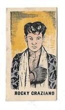 ROCKY GRAZIANO  Nº 17 1950's Kiddy's Favourites ORIGINAL BOXING CARD