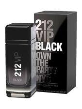 212 VIP BLACK * Carolina Herrera 3.4 oz / 100 ml EDP Men Cologne Spray