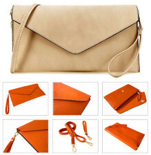 Large Beige Clutch Bag Oversized Purse Envelope Evening Bag Wedding Bridal Bag