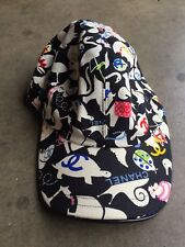 Chanel Baby Animals Collection Cap Hat sz Medium Black Print