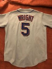 David Wright #5 Jersey New York Mets MLB Majestic Brand Away Jersey Size L