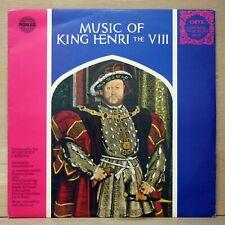 1971 British import MUSIC OF KING HENRY VIII vinyl album SUPER CLEAN LP ex