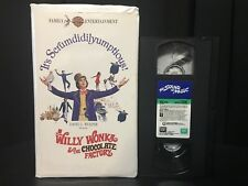 Willy Wonka and the Chocolate Factory & Sound of Music VHS BUNDLE (1994 & 1996)
