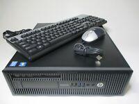 HP 800 G1 Desktop Intel Core i5-4590 3.2GHz 16GB RAM 1TB HDD+128GB SSD WIN10 Pro