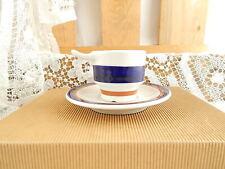 VINTAGE MODERNARIATO TAZZINA CAFFE' PORCELLANA ARISTON RICHARD GINORI MADE ITALY