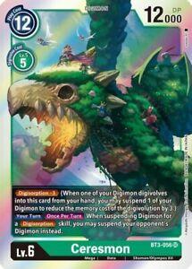 Ceresmon BT3-056 SR Digimon Card