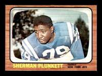 1966 Topps #99 Sherman Plunkett  NM/NM+ X1431384