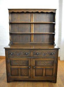 Antique style JAYCEE farmhouse welsh dresser cupboard - sideboard