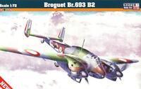 BREGUET Br 693 AB2 (FRENCH, ITALIAN, VICHY & LUFTWAFFE MKGS) 1/72 MISTERCRAFT