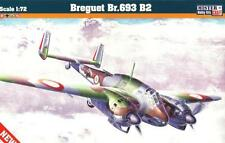 BREGUET Br 693 AB2 (FRENCH, ITALIAN, VICHY & LUFTWAFFE MKGS) 1/72 MASTERCRAFT