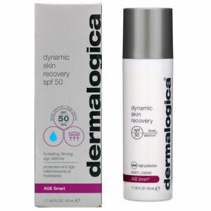 Dermalogica AGE Smart Dynamic Skin Recovery SPF 50 1.7 oz 50 ML New in Box
