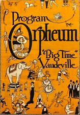 Adelaide Herrmann, Orpheum Theatre Program, Early 1900S, Orpheum Theatre, Tulsa