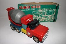 1960's Made in Japan Pressed Steel Ford Cement Truck with Original Box