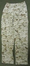 NEW GENUINE US MARINES USMC MCCUU DIGITAL DESERT MARPAT COMBAT TROUSERS. MEDIUM.