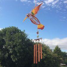 Nouveau roi glitter design oiseau FISHER vent carillon jardin suspendu mobile boxed
