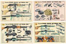 Soviet Russian RPD 7.62x39 Light MachineGun Posters your choice  LQQK & BUY NOW!