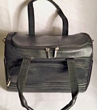 Wilson's Leather Pelle Studio Women's Black Leather Satchel Duffel Handbag New