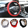 1pc All Seasons Elastic Car Auto Steering Wheel Cover Non Slip Accessory 38cm
