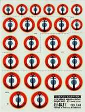 Colorado Decals 1/48 French Navy National Insignia/roundels # 48061