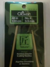 """New listing Clover Bamboo - Circular Knitting Needles - 48"""" - Size 4 (3.5 mm) only"""